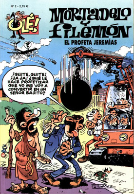 MORTADELO Y FILEMÓN OLÉ 002