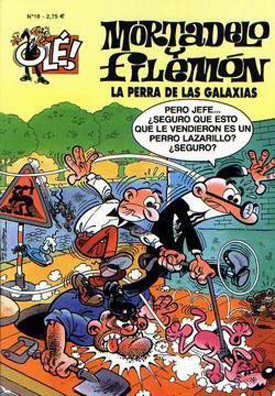 MORTADELO Y FILEMÓN OLÉ 018